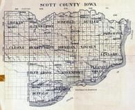 Index Map, Scott County 1923