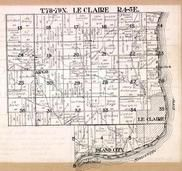 Le Claire Township, Island City, Argo, Mississippi River, Smith's Island, Scott County 1923