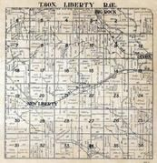 Liberty Township, New Liberty, Dixon, Big Rock, Scott County 1923