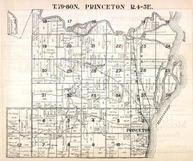 Princeton Township, Mississippi River, Lost Creek, Scott County 1923