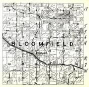 Bloomfield Township, Castalia, Winneshiek County 1948