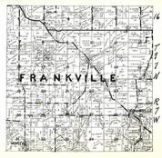 Frankville Township, Winneshiek County 1948