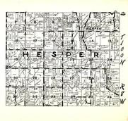 Hesper Township, Winneshiek County 1948