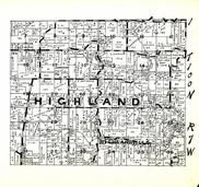 Highland Township, Highlandville, Winneshiek County 1948