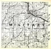Military Township, Ossian, Winneshiek County 1948
