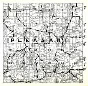 Pleasant Township, Locust, Canoe Creek, Winneshiek County 1948