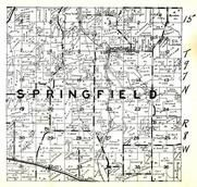 Springfield Township, Nordness, Winneshiek County 1948