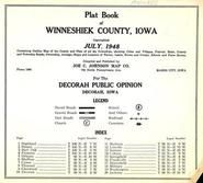 Title Page, Index, Winneshiek County 1948