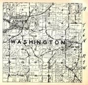 Washington Township, Fort Atkinson, Restina, Twin Spring, Winneshiek County 1948
