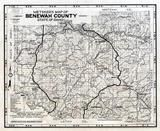 Benewah County 1980 to 1996 Tracing, Benewah County 1980 to 1996
