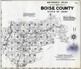 Title Page - Index Map, Boise County 1940