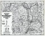 Boundary County 1980 to 1996 Mylar, Boundary County 1980 to 1996