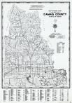 Camas County 1980 to 1996 Mylar, Camas County 1980 to 1996