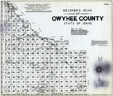 Title Page - Index Map, Owyhee County 1940