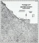Owyhee County 1980 to 1996 Mylar