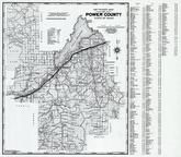 Power County 1980 to 1996 Mylar, Power County 1980 to 1996