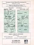 Boone County Map, Boone County 1956