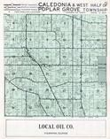 Caledonia and Poplar Grove Townships, Boone County 1956