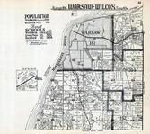 Warsaw and Wilcox Township, Hancock County 1936