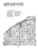 Appanoose Township, Hancock County 1960