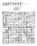 Carthage Township - East, Hancock County 1960