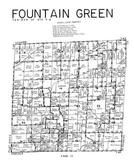 Fountain Township, Hancock County 1960