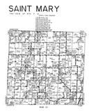 Saint Mary Township, Hancock County 1960