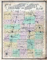 Index Map, Iroquois County 1884