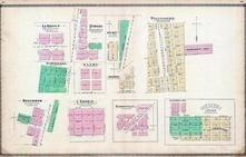 La Hogue, Pitwood, Wellington, Martinton, Haxby, Goodwine, Del Rey, Danforth, Ridgeville, Iroquois County 1884