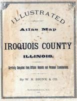 Title Page, Iroquois County 1884