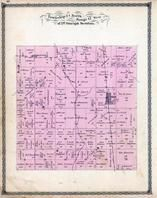 Township 24 North, Range 12 West, Wellington, Lyford Station, Iroquois County 1884