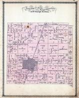 Township 24 North, Ranges 10 and 11 East, Loda, Spring Creek, Iroquois County 1884