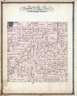 Township 26 North, Range 14 West, Gilman, Spring Creek, Iroquois County 1884