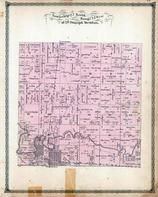 Township 27 North, Range 12 West, Watseka, Iroquois River, Pittwood, Iroquois County 1884