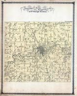 Township 27 North, Ranges 10 and 11 West, Iroquois, Iroquois County 1884