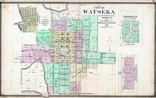 Watseka, Thawville, Claytonville, Old Middleport, Iroquois County 1884