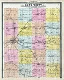 Knox County Outline Map, Knox County 1903