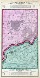 Palmyra Township, Nelson Township, Rock River, Lee County 1872