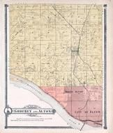 Godfrey Township, Alton Township, Mississippi River, Madison County 1906