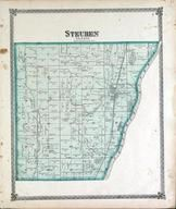 Steuben Township, Sparland, Goose Lake, Gar Lake, Illinois River, Marshall County 1873