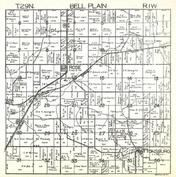 Bell Plain Township, Pattonsburg, La Rose, Marshall County 1930c