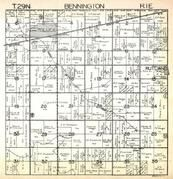 Bennington Township, Toluca, Rutland, Crow Creek, Marshall County 1930c
