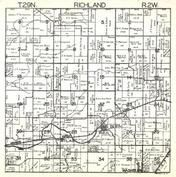 Richland Township, Wilburn, Atlas, Washburn, Marshall County 1930c
