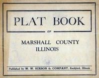 Title Page, Marshall County 1930c