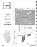 Hardin County Index Map 1, Pope and Hardin Counties 2005