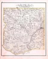 Township 5 South, Range 8 West, Evansville, Kaskaskia River, Ruma, Randolph County 1875