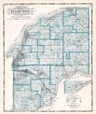 Hampton Township, Watertown, Barstow, Carbon Cliff, Rock Island County 1905