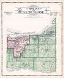 Moline and South Moline Townships, Rock Island County 1905