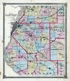 St. Clair County Map, St. Clair County 1874