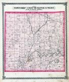 Township 1 South, Range 6 West, Pensoneau, Okaw River, St. Clair County 1874